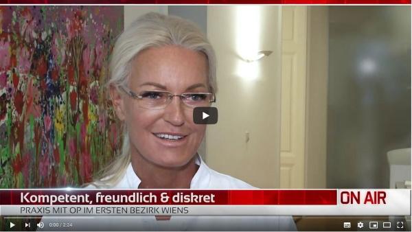 Sanfte Schönheitsmedizin RTL Österreich I Interview mit Dr. Zierhofer-Tonar, 1010 Wien